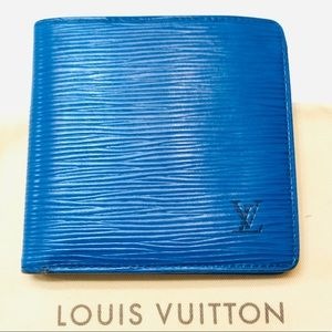GENUINE LOUIS VUITTON Epi Marco Wallet